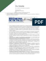 Ingenieria De Detalle  ( definiciones).docx