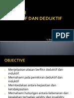 Induktif & Deduktif