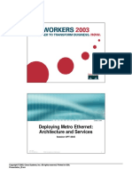 Deploying Metro Ethernet Architecture and Services (Cisco - 2003)
