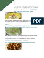 Sep Masakan Terbaru Jawa Merupakan Resep Masakan Yang Terbuat Dari Bahan