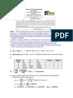 Analisis Numerico Primera Evaluacion III 2012 Solucion