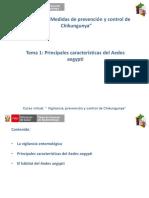 Cap III Tema i Principales Caracteristicas Del Aedes Aegypti