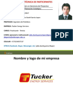 Ficha Datos EGP - Julio Garcia - Tucker Energies Services