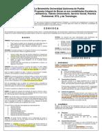 CONVOCATORIA INSTITUCIONALES 2015