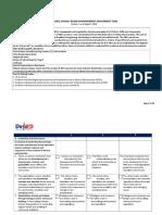 Revised SBM Assessment Tool