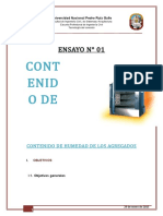 Contenido de Humedad AF-AG