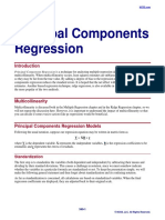 Principal Components Regression