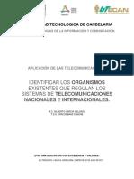 Organismos Que Regulan Las Telecomunicaciones
