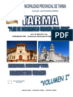 Pdu Tarma-Vol i - Diagnostico