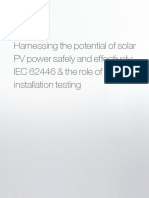 Pv Testing White Paper Harnessing the Potential