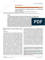 Trivedi Effect - Antibiogram Typing and Biochemical Characterization of Klebsiella pneumoniae after Biofield Treatment