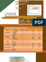 UTOPIA Programa Arquitectonico