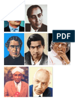 Indian Scientists PICS + INFO