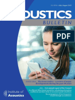 Acoustics Bulletin July-August 2015