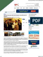 Club de Caminantes AELU-APJ Festejó in Situ 478 Años