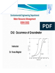 Ch2 Occurrence of Groundwater