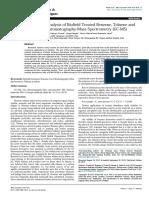 Trivedi Effect - Isotopic Abundance Analysis of Biofield Treated Benzene, Toluene and p-Xylene Using Gas Chromatography-Mass Spectrometry (GC-MS)