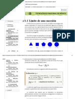 cálculoDiferencial03002LimiteSucesion
