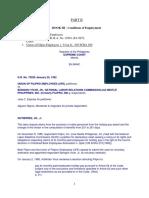 Part II Arroyo Labor Standards Cases