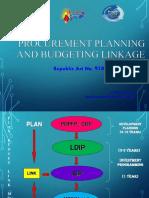 PCM- Planning Budgeting Linkage