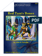 DF27 Red Tams Bones