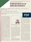 Seis mil extremeños en la conquista de América. Un cura ciego escribió su historia por G. Rubio Revista Región Extremeña nº 5/1979 p. 37-39 del Hogar Extremeño de Madrid