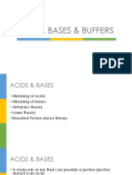 Acids Bases Buffers