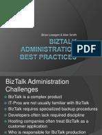 98188200 BizTalk Administration Best Practices(1)