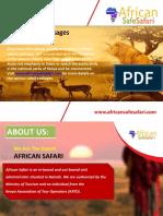 Masai Mara Safari Packages | africansafesafari