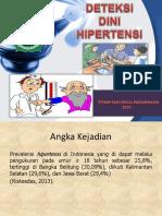 Deteksi Dini Hipertensi