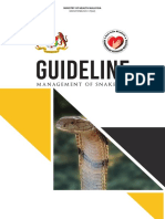 Malaysian Snakebite Management Guideline