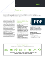 Datasheet OpenScape Business en CB