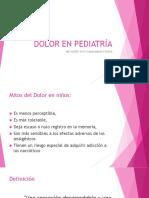 DOLOR EN PEDIATRÍA.pptx