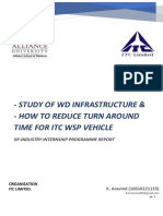 ITC - Internship Report - WD Infrastructure