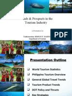 Marfori-Tourism Trends - Butuan Presentation