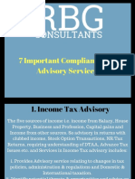 7 Important Compliance and Advisory Services