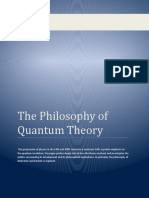 The Philosophy of Quantum Theory