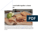 Flaky butter crust holds together a classic Dutch apple pie.pdf