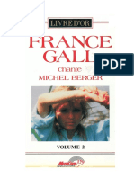France Gall - Livre d'or Vol.2 (France Gall Chante Michel Berger)