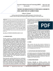 An Experimental Stduies on Behaviour of Pervious Concrete by using Addition of Admixtures