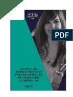 Manual de Normas Técnicas - FTC - Itabuna - 2017.1