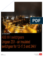ABB UniGear MV Switchgears