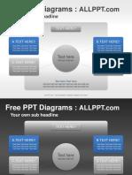 Matrix Sphere Relationship PPT Diagrams Standard