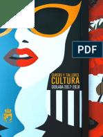 CULTURA   Cursos y Talleres de la Concejalía de Cultura de Coslada 2017/18