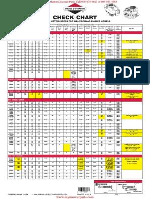 Check Chart common_specs_metric_all BRIGGS & STRATTON_engines pdf