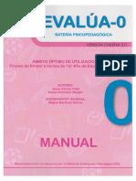 Evalua 0 Manual