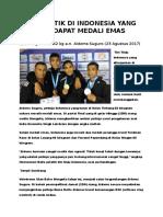 10 Atletik Di Indonesia Yang Mendapat Medali Emas
