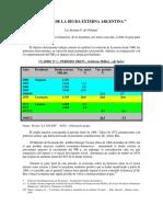 deuda externa resumen