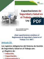 Capacitaciones Obligatorias Ley 29783
