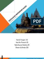 Presentasi Kerajaan Mataram Kuno